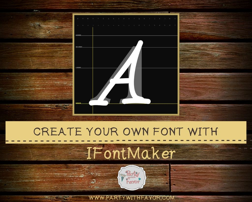 Create Your Own Font With IFontMaker