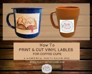 Learn How To Put Vinyl On Mugs