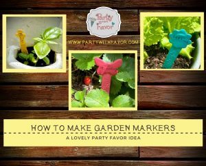 Easy To Make DIY Clay Herb & Vegetable Garden Markers