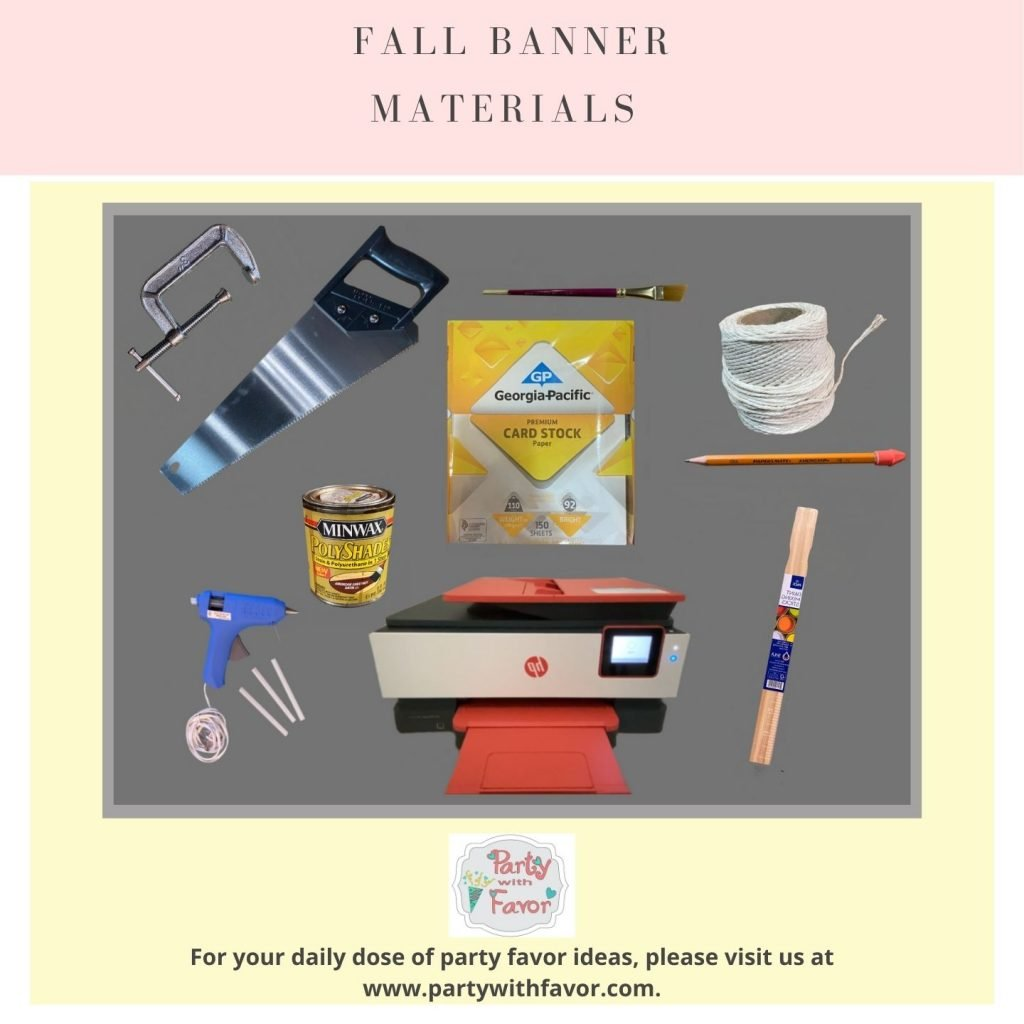 Fall Banners With Free Designs Materials