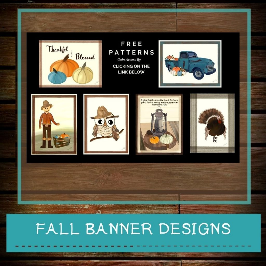 Fall Banners With Free Designs - Resource Library