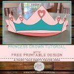 Easy To Make DIY Princess Crown & FREE Pattern