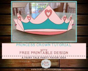 Easy To Make DIY Princess Crown & FREE Pattern