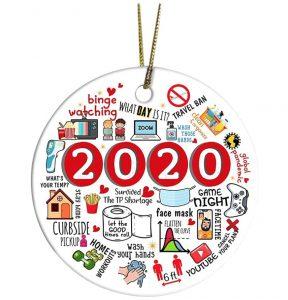 Best Christmas Party Favors - 2020 Quarantine Ornament