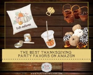 The Best Thanksgiving Party Favors on Amazon