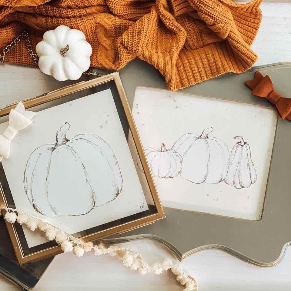 Christy Beasleys Creative Art - Pumpkins