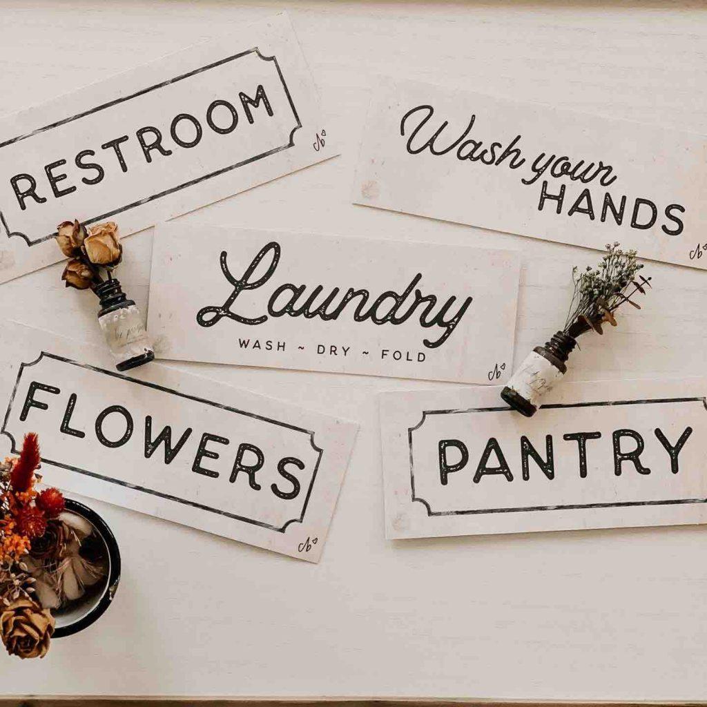 Christy Beasleys Creative Art - Pantry Prints