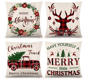Best Christmas Party Favors - Pillow Covers