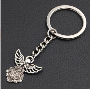 Best Christmas Party Favors - Angel Keychain