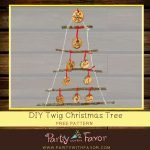 How to Make a Twig Christmas Tree