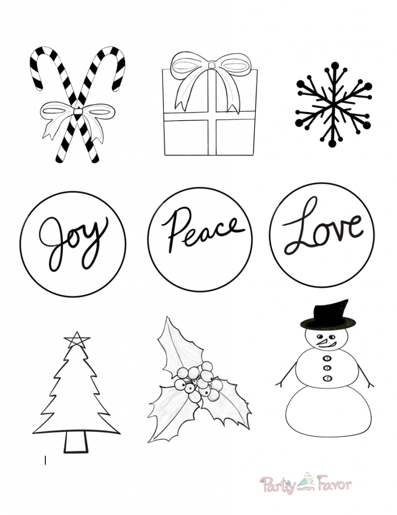 How to Make Wood Burned Christmas Ornaments: FREE Patterns - Website
